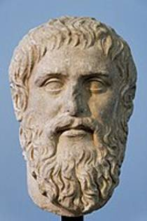Picture of an author: Plato