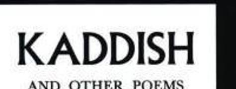 Image of Kaddish And Other Poems