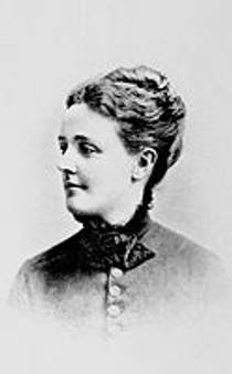 Picture of an author: Sarah Orne Jewett