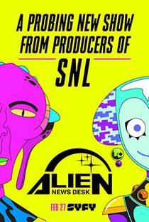 Picture of a TV show: Alien News Desk