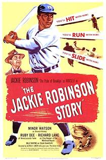 Picture of a movie: The Jackie Robinson Story