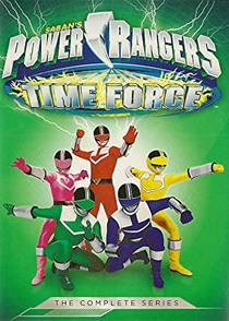 Picture of a TV show: Power Rangers Time Force