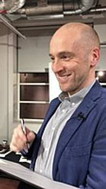 Picture of an author: Derren Brown