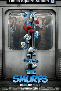 Picture of a movie: The Smurfs
