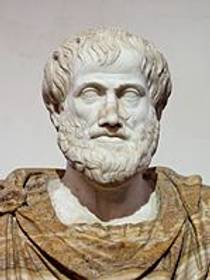 Picture of an author: Aristotle