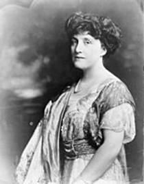 Picture of an author: Mary Roberts Rinehart