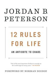 Picture of a book: 12 Rules For Life: An Antidote To Chaos