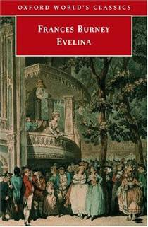 Picture of a book: Evelina