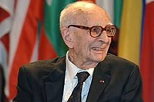 Picture of an author: Claude Lévi-Strauss