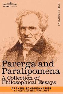 Picture of a book: Parerga And Paralipomena