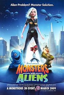 Picture of a movie: Monsters Vs. Aliens