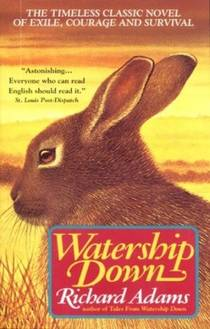 Picture of a book: Watership Down