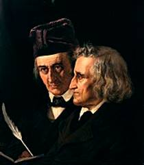 Picture of an author: Wilhelm Grimm