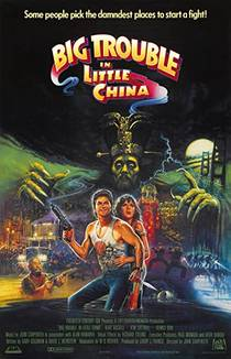 Picture of a movie: Big Trouble In Little China