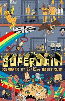 Picture of a TV show: Superjail!