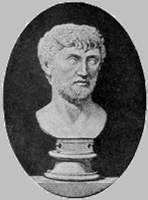 Picture of an author: Lucretius