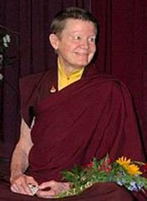 Picture of an author: Pema Chödrön