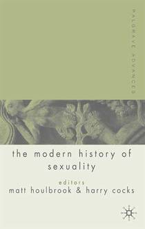 Picture of a book: Palgrave Advances in the Modern History of Sexuality