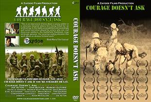 Picture of a movie: Courage Doesn't Ask