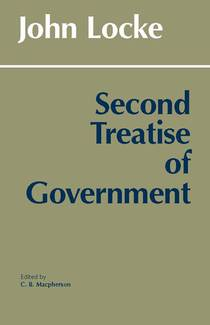 Picture of a book: Second Treatise Of Government