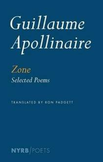 Picture of a book: Zone: Selected Poems