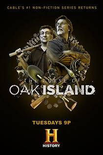 Picture of a TV show: The Curse Of Oak Island