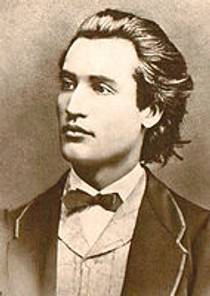Picture of an author: Mihai Eminescu