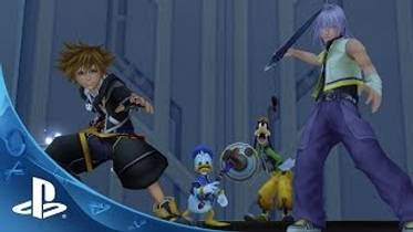 Picture of a game: Kingdom Hearts Hd I.5 + II.5 Remix