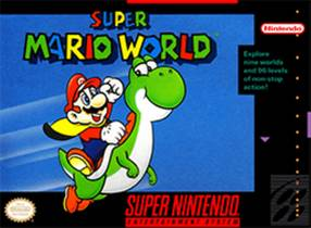 Picture of a game: Super Mario World