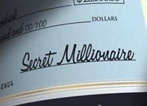 Picture of a TV show: Secret Millionaire
