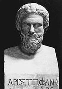 Picture of an author: Aristophanes