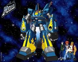 Picture of a TV show: Megas Xlr