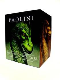 Picture of a book: Inheritance Cycle 4-Book Hard Cover Boxed Set (eragon, Eldest, Brisingr, Inheritance)
