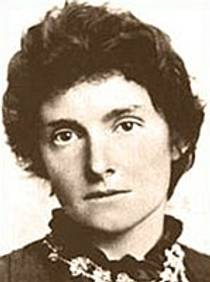 Picture of an author: E. Nesbit