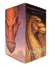 Picture of a book: Eragon, Eldest & Brisingr