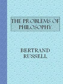 Picture of a book: The Problems Of Philosophy