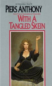 Picture of a book: With A Tangled Skein