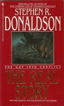 Picture of a book: The Gap Into Conflict: The Real Story