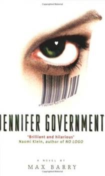 Picture of a book: Jennifer Government