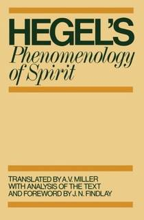 Picture of a book: Hegel's Phenomenology Of Spirit