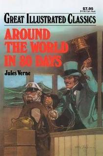 Picture of a book: Around The World In 80 Days