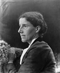 Picture of an author: Charlotte Perkins Gilman