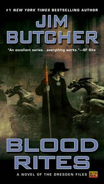 Picture of a book: Blood Rites