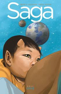 Picture of a book: Saga: Book One