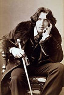 Picture of an author: Oscar Wilde