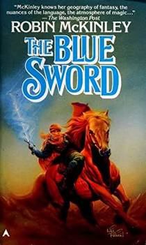 Picture of a book: The Blue Sword