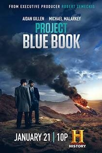 Picture of a TV show: Project Blue Book