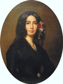 Picture of an author: George Sand