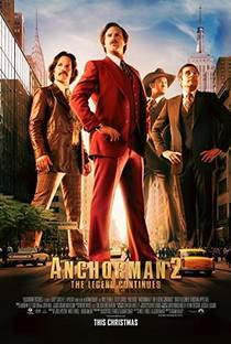 Picture of a movie: Anchorman 2: The Legend Continues