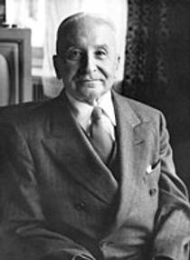 Picture of an author: Ludwig Von Mises